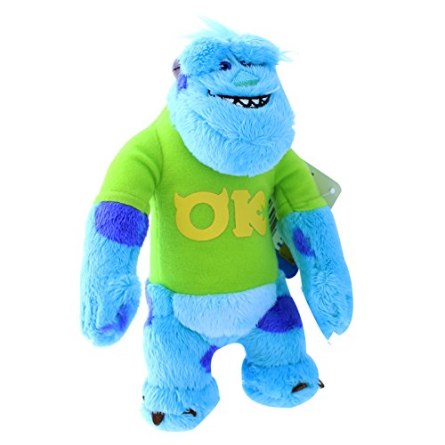 Monsters Uni - 20cm Sulley mit T-Shirt Plüsch [UK Import] (Beängstigend T Shirt)