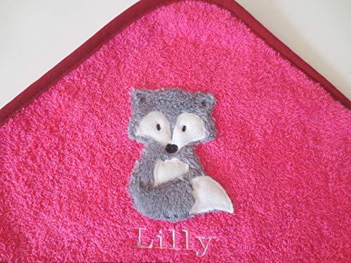 Kapuzenhandtuch Badehantuch Handtuch Badetuch Babyhandtuch baden waschen Fuchs