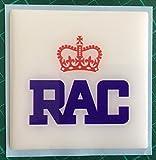 RAC en forme de dôme Résine carré de voiture auto badge Voiture classique rétro Royal automobile Club...