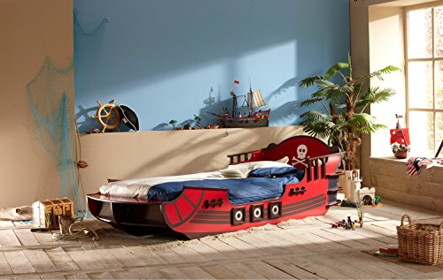 Piraten Kinderbett Schiff 140 Cm X 70 Cm Jugendbett