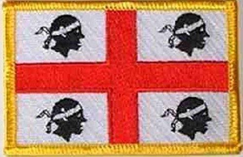 Preisvergleich Produktbild U24 Aufnäher Sardinien Aufbügler Patch