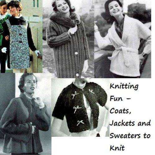 Diversión: chaquetas, abrigos y suéteres para tejer de punto por Unknown