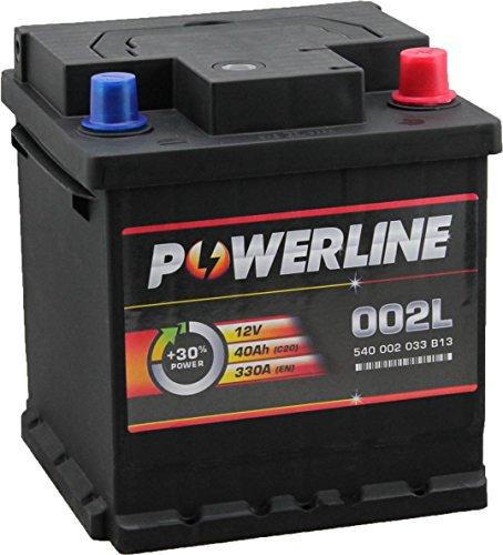 002L / 202 Powerline Auto Batteria 12V 40Ah
