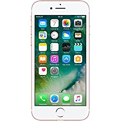 Apple iPhone 7 Smartphone Libre Oro Rosa 128GB (Reacondicionado)