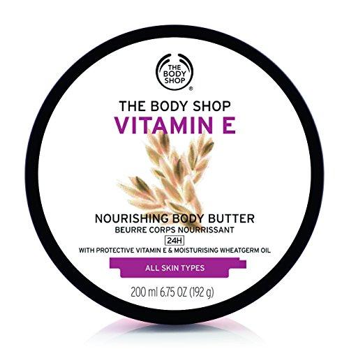 Vitamin E Körperbutter 200 ml für alle Hauttypen und für Männer und Frauen Vitamin E Body Butter 200ml For MEN & WOMEN & ALL SKI TYPES