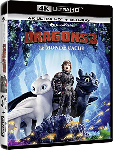 Dragons 3 : Le Monde caché [4K Ultra HD + Blu-ray + Digital]