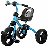 GoodLuck Baybee - Children Plug and Play Dandy Tricycle Kid's for 2-5 Years Baby Trike Ride on Outdoor | Suitable for Babies,Boys & Girls - (Blue)