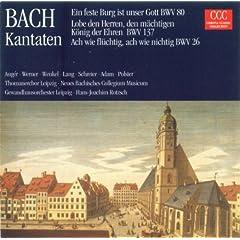 Bach, J.S.: Cantatas - Bwv 26, 80, 137