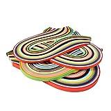 Outus 26 Farben 1040 Strips Papier Quilling Streifen Papierbreite Set