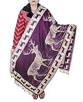 Chal para las niñas - chal de lana de moda indio para las mujeres