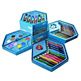 #5: INFInxt Color Box with Sketch, Crayons, Colors-Pencil, Water Colors - 46 Pieces