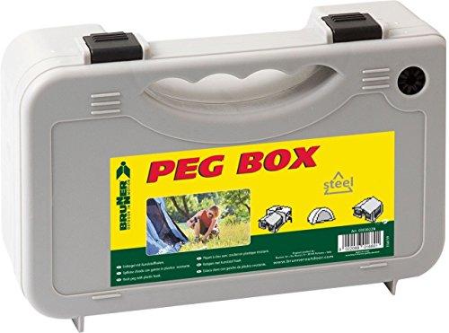 BRUNNER 0303073N Heringsbox peg box, Grau