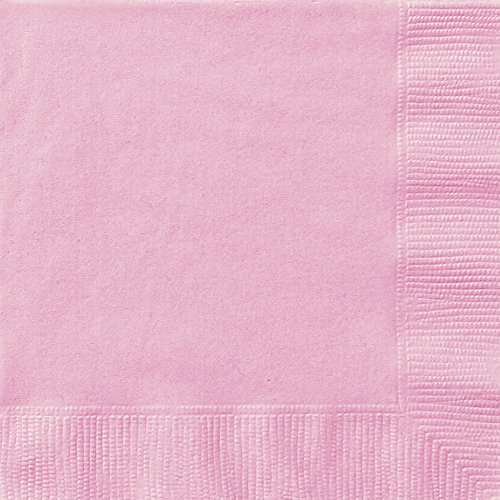 unique-party-30872-paquet-de-20-serviettes-en-papier-165-cm-rose-pastel