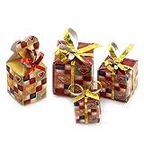 MyTinyWorld Dolls house Miniature set of 4 Christmas Parcels Style 7