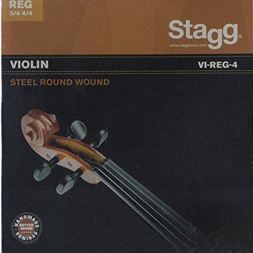 Stagg VI-REG-4 Violin 3/4+4/4 Steel Roundwound Set