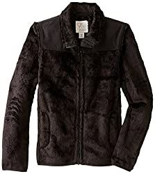 The Childrens Place Little Girls Solid Favorite Jacket, Black, Small/5-6