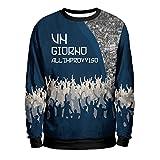 UN GIORNO ALL'IMPROVVISO Felpa Uomo - Napoli Urban Mentality Sweatshirt Man - SSC Napoli 1926 Calcio T-Shirt