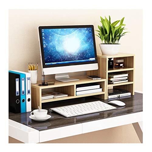 REGAL Rack-LCD-Monitor Computer Desktop-Erhöhung, 2 Schichten + 3 Schichten (Color : C) (Ich Desktop-computer)