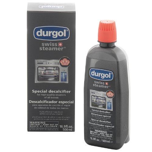 Durgol Swiss Steamer Spezial-Entkalker für hochwertige Steamer / Dampfgarer flüssig 500 ml