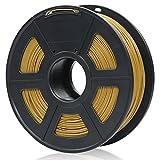 ANYCUBIC PLA 3D Drucker Filament, Toleranz beim Durchmesser liegt bei +/- 0,02mm, 1kg Spule, 1.75mm für 3D-Drucker und 3D-Stifte,Verschiedene Farben (Hölzern)