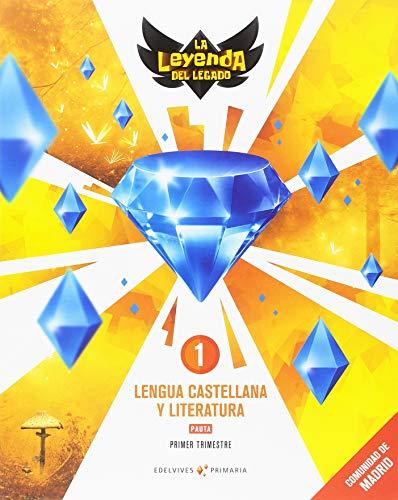 Proyecto: La leyenda del Legado. Lengua castellana y Literatura 1. Pauta. Comunidad de Madrid. Trimestres
