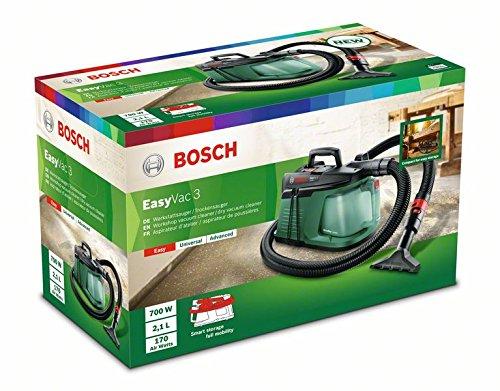 Bosch Handstaubsauger EasyVac 3 (700 Watt, 3 L Staubbehälterkapazität, im Karton)