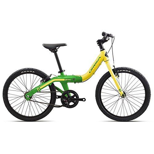 Orbea Grow 2enfants vélo de 20pouces 1Gang mitwachsend réglable en aluminium, g00320K taille unique jaune