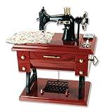 #8: Generic Musical Sewing Machine Music Box Vintage Look
