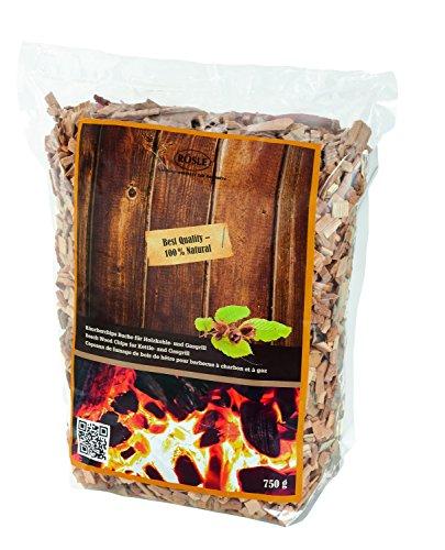 RÖSLE Räucherchips Buche, 750 g, rauchaktiv, Qualität aus Deutschland -