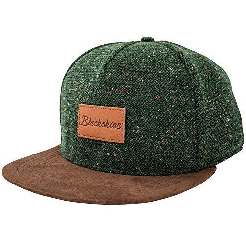 official photos 785ba 69847 Blackskies Obsidian Snapback cap   Hat Berretto da Baseball Uomo Donna  Cappello 5-Panel Lana