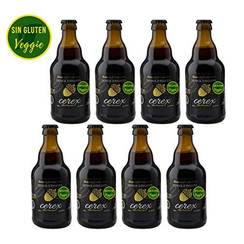 CEREX - Bier Glutenfrei - Craftbeer Packet 8 - Kirsche, Kastanie, Iberisches Bellota und Pilsen - Best Craft Beer Spain Prize