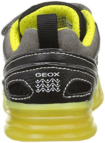 Geox J Argonat C, Scarpe da Ginnastica Basse Bambino Grigio (Grey/limec0666)