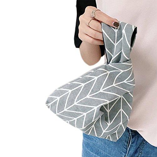 Laat pieghevole cinturino borsa in pelle donne borsa frizione sacchi porta carte di credito soldi di stoccaggio della corsa trasporta zaini piccola borsa tote bag Color 1 21*17*5 Grey 2