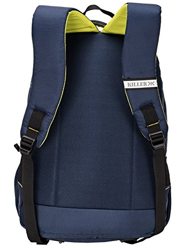 Killer Louis 38L Large Navy Blue Polyester Laptop Backpack with 3 Compartments Image 5