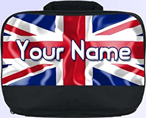 Union Jack Personalised Children's School Lunch Box / Bag