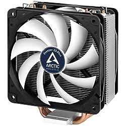 Arctic Freezer 33 Plus - Ventilateur processeur I Refroidisseur de processeur I multicompatible Intel et AMD - jusqu'à 160W TDP - Silencieux