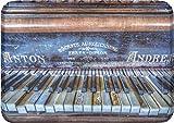 Rannenberg & Friends Tablett small aus Melamin Altes Klavier Maße: 30 x 21 cm - RTBS047