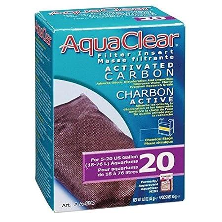 AquaClear Aktivkohle Filterpatrone für AquaClear Power Filter 20