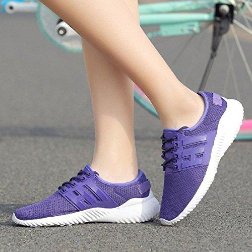 Chaussures de course Le nouveau Chaussures de sport Respirant Portable Loisir Mode Chaussures de voyage Blue