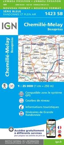 Chemillé-Melay Beaupréa 1:25 000 par From Ign Frankreich