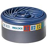Moldex 9800Easy Lock Gas Filter Patronen, A2B2E2K2* (8Stück)