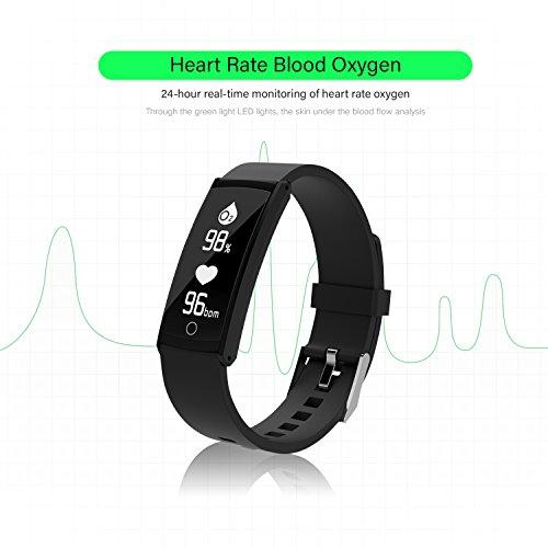 Homewins Fitness tracker, moniteur de fréquence cardiaque..
