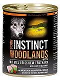 PURE INSTINCT Woodlands Junior Nassfutter mit Truthahn - 6x800g