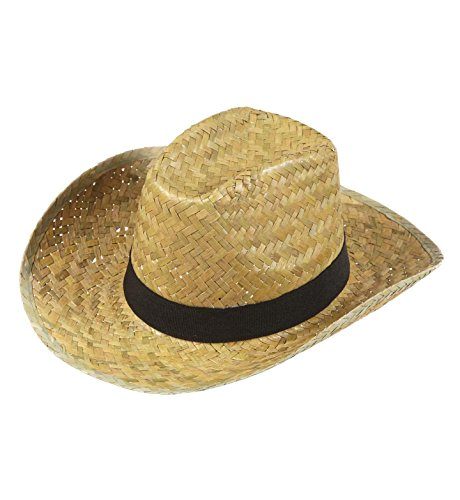 WIDMANN 1425D - Cappello da Cowboy, Modello Texas, in Paglia
