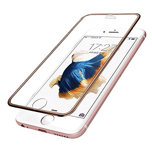 QINPIN Für iPhone 6 4.7IncH /iPhone 6 Plus/iPhone 6s Plus 3D/iPhone 7 4.7inch/iPhone 7 Plus Premium Displayschutzfolie Gehärtetes Glas Schutzfilm