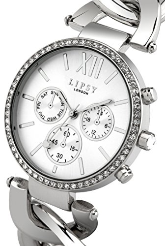 Lipsy-Womens-Quartz-Watch-with-Silver-Dial-Analogue-Display-and-Silver-Bracelet-LP331