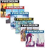 FREEGUN Boxer, Garçon, Multicolore (Multicolor E2) Taille Fabricant: 12/14 (Lot de 6
