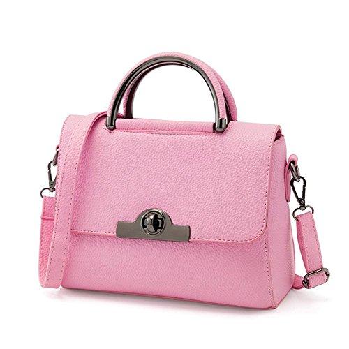 GBT Neue Tendenz-Damen-Handtaschen-Schulter-Beutel Pink