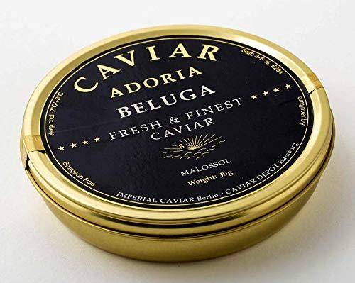 Adoria - caviale beluga - premium caviar selection - 30 gr