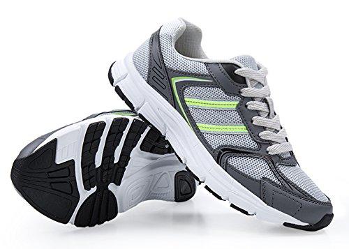 Santiro Donna Calzature Sportive Traspirante Scarpe da Ginnastica Basse Outdoor Tennis da Passeggio Sneakers. Verde